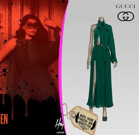 Hayfa Green haifa wehbe fashion and jewelry haifa wehbe green gucci dress
