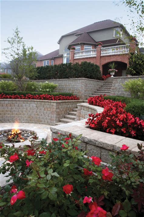Unilock Pisa 2 Prices Retaining Wall Benson Co Rockford Il