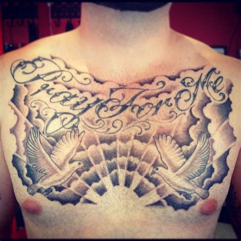 chest piece tattoo for men chest show me a with a and i ll show