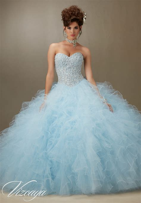 Quinceanera Dresses by Tulle Quinceanera Dress Style 89077 Morilee