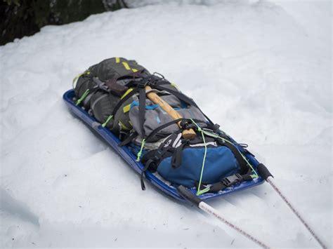 diy snow sled diy make your own pulk sled rei co op journal