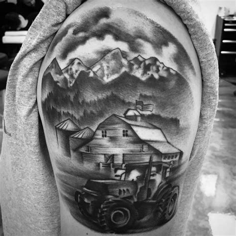 farm tattoos 60 farming tattoos for agriculture design ideas
