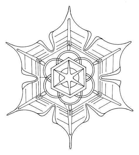 Kids Coloring Pages  Mandala sketch template