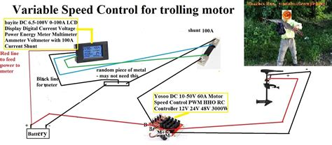 how to build a variable speed controller for trolling