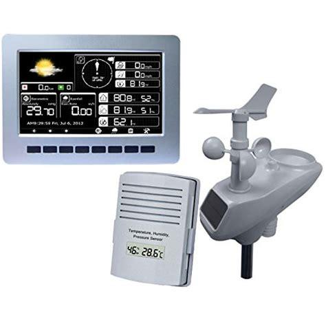Termometer Watson watson w8681 pro touch screen professional weather station guide