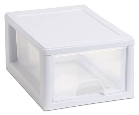Plastic Storage Box Drawers by Plastic Storage Container With Drawers Storage Design