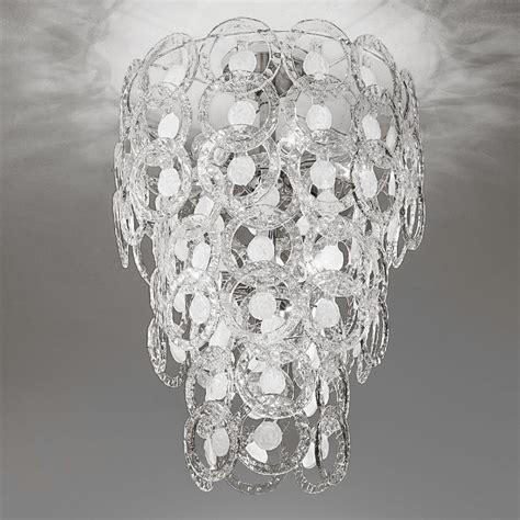 soffitto di cristallo lada ladario moderno pendenti di antea luce