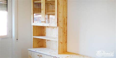 cassettiere su misura cassettiere su misura in legno di falegnameria modonesi pero