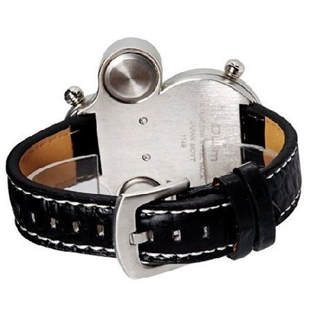 Oulm Jam Wanita Leather Band Fashion 9591l Black oulm mechanical analog quartz leather band fashion 1149 black jakartanotebook