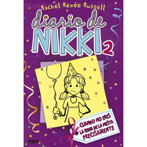 libro diario de nikki una diario de nikki 1 cr 243 nicas de una vida muy poco glamurosa tapa dura 183 libros 183 el corte ingl 233 s