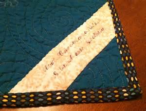 tutorial how to make a quilt label quilt addicts anonymous
