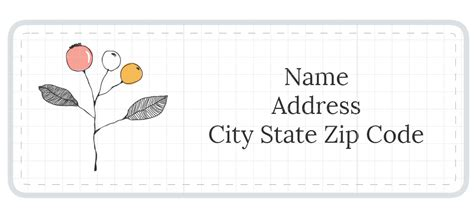 1 789 Address Label Templates Address Labels Free Templates