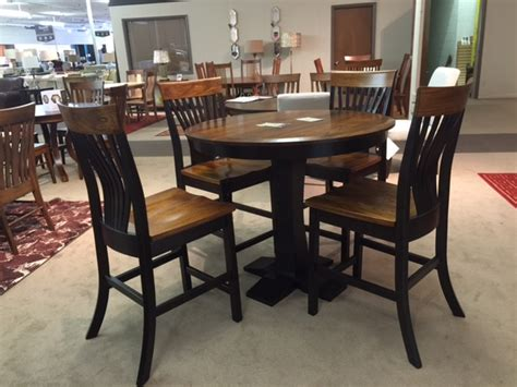 amish dining room set amish gathering table set dining room