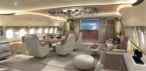 Model Home Interior Designers by Airbus Displays A350 Vip Jet Interior At Ebace