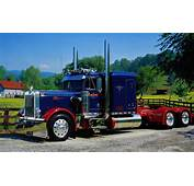 1982 Peterbilt 359 With Extended Hood  From The Eichorn