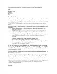 fmla cover letter letter of recommendation cover letter the letter sle