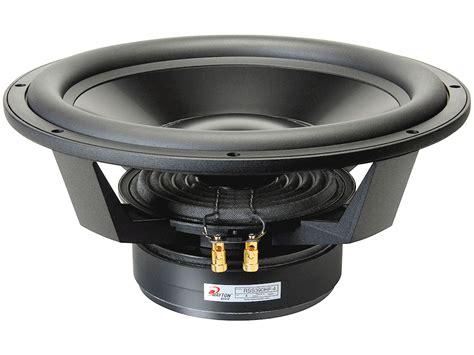 Speaker Subwoofer 15 Inches dayton audio rss390hf 4 15 inch reference hf subwoofer 4 ohm loudspeaker freaks