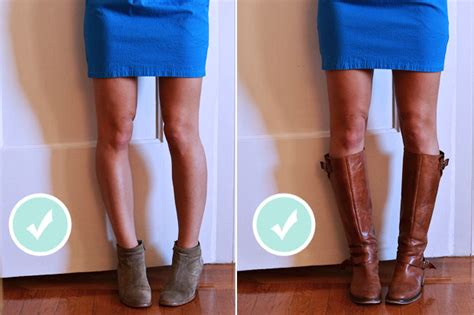 knee high boots with skirts images