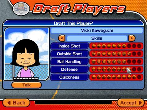 backyard basketball 2004 screenshots for windows mobygames