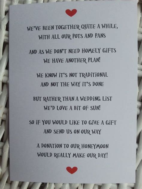 poems about gifts wedding poem money as a gift 3 different poems