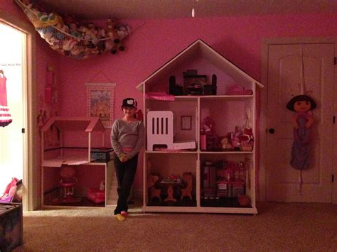 my ag doll house tour american girl dollhouse tour our generation house and lemonade stand youtube