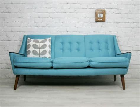 details  retro vintage mid century danish style sofa daybed eames era   vintage
