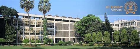 Iit Bombay Washington Executive Mba by Indian Institute Of Technology Bombay Olin Business School