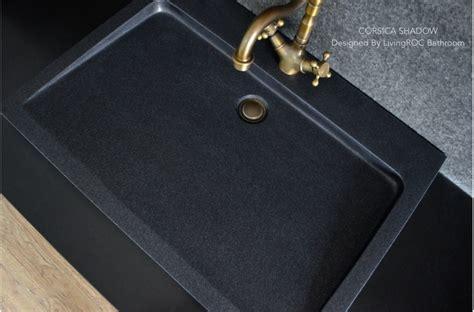granite bathroom sink 27 quot black granite stone single trough bathroom sink