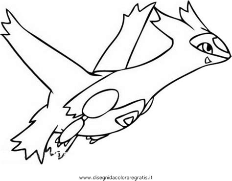 pokemon coloring pages latios free coloring pages of pokemon latias