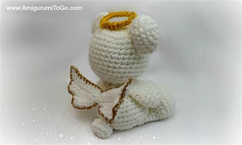 free pattern amigurumi angel amigurumi angel wings with halo amigurumi to go