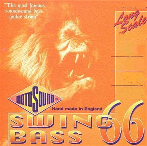 rotosound swing bass strings rotosound rs66ld swing bass 66 45 105 strings