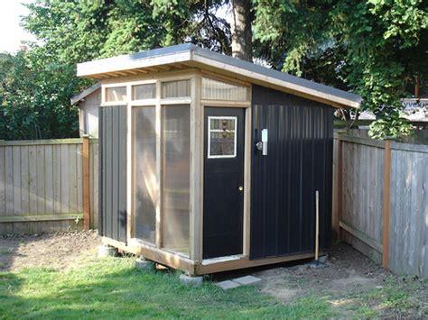 diy modern shed   build diy blueprints
