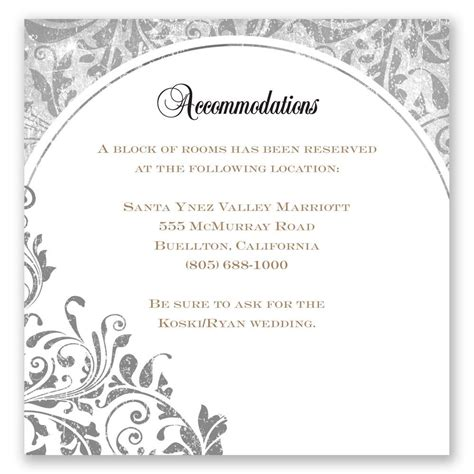what to put on wedding accommodation cards ideas about wedding invitation wording everafterguide