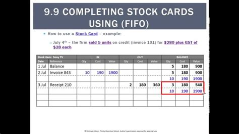 queue cards template 9 9 completing stock cards using fifo