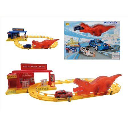 dinosaur battery operated world roller coaster