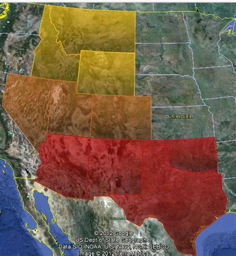Interior West States by The Baltimore Snacker State By State Redux Iv Of X The