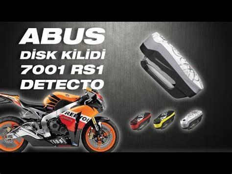 abus motosiklet alarmli disk kilidi  rs detecto