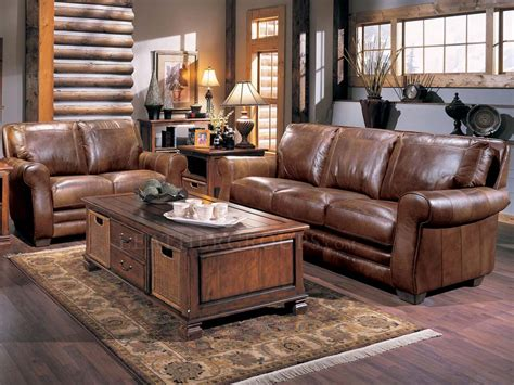 bowden leather furniture set by lane furniture 548