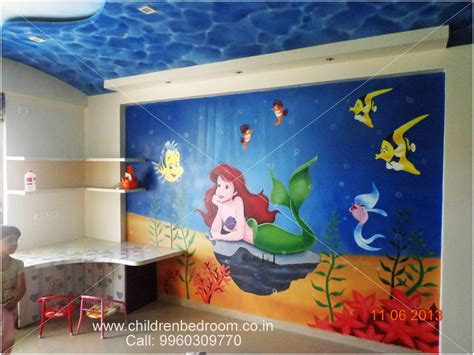 Ideas For Painting Bedroom children roon cartoon painting artist in pune mumbai