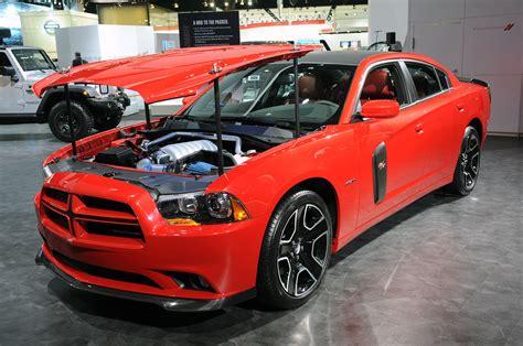 redline charger dodge charger redline pops its top with mopar juice autoblog