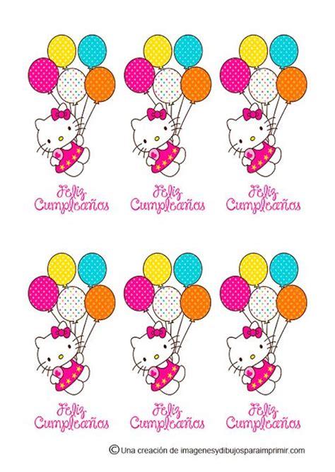 imagenes de kitty de feliz cumpleaños 17 best images about decoraciones cumplea 241 os on pinterest