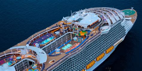 royal caribbean largest ship the largest cruise ships in the world