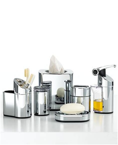 simplehuman bath accessories precision chrome collection