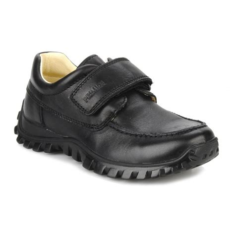 boys shoes walker e black leather boys shoe
