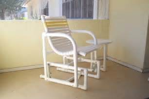 pvc pipe furniture pvc pipe glider chair