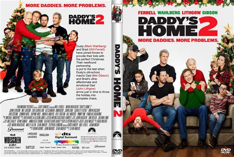 daddys home 2 s home 2 2017 r1 custom dvd cover label