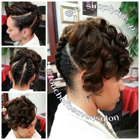 jumbo twist updo hairstlyes jumbo braided updo with curls natural hair www