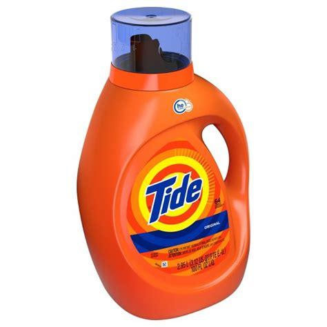 Detergen Liquid Laundry tide original high efficiency liquid laundry detergent