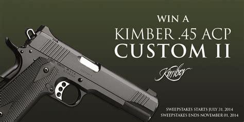 Kimber Giveaway - kimber 45 acp giveaway hunting film tour