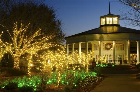 daniel stowe botanical garden holidays at the garden lights and more